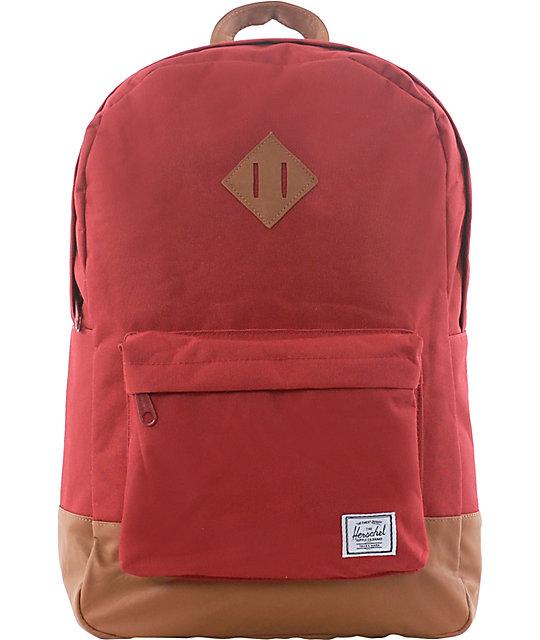 Herschel Supply Heritage Red Backpack