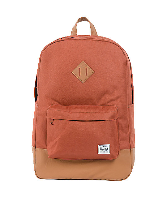 Herschel Supply Heritage Rust Red 20L Backpack