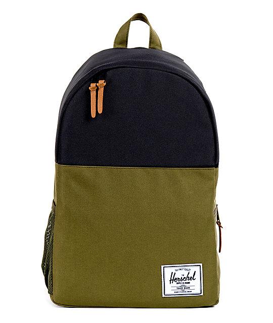 Herschel Supply Jasper Army & Black 18L Backpack
