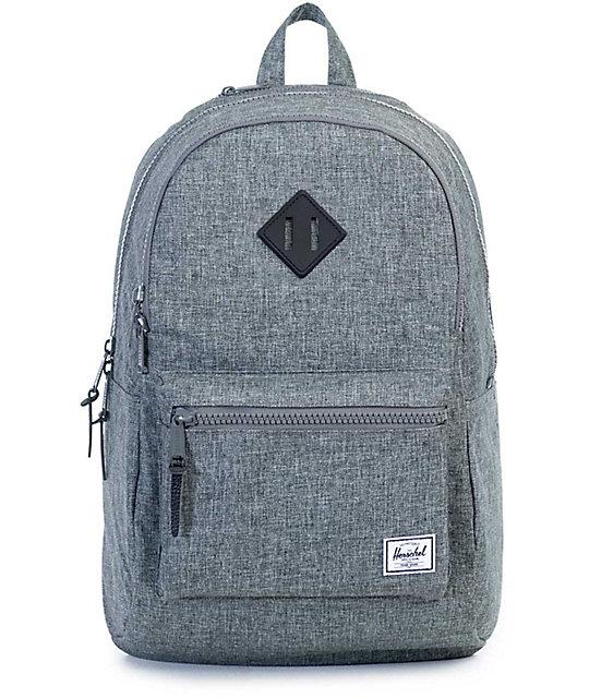 Herschel Supply Lennox Raven Crosshatch 26L Backpack