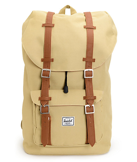 Herschel Supply Little America 24L Khaki Backpack