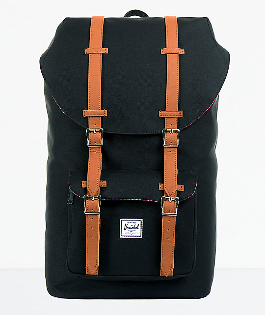 Supply Little America Black Backpack