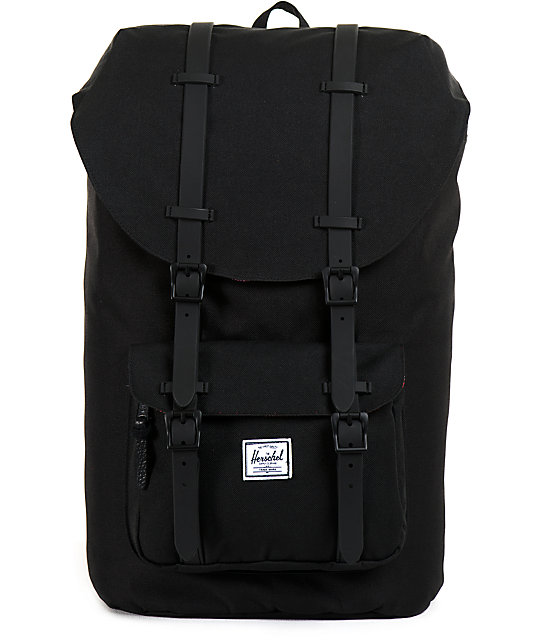 Herschel Supply Little America Black Weather 24L Backpack