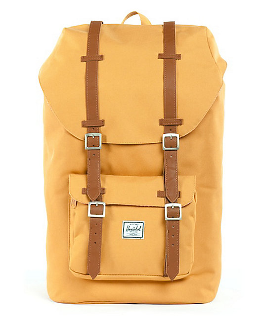 Herschel Supply Little America Butterscotch Backpack