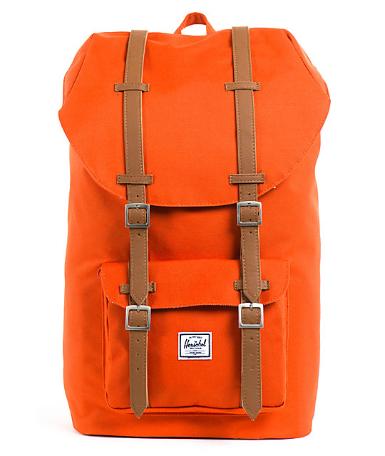 Herschel Supply Little America Camper Orange 24L Backpack