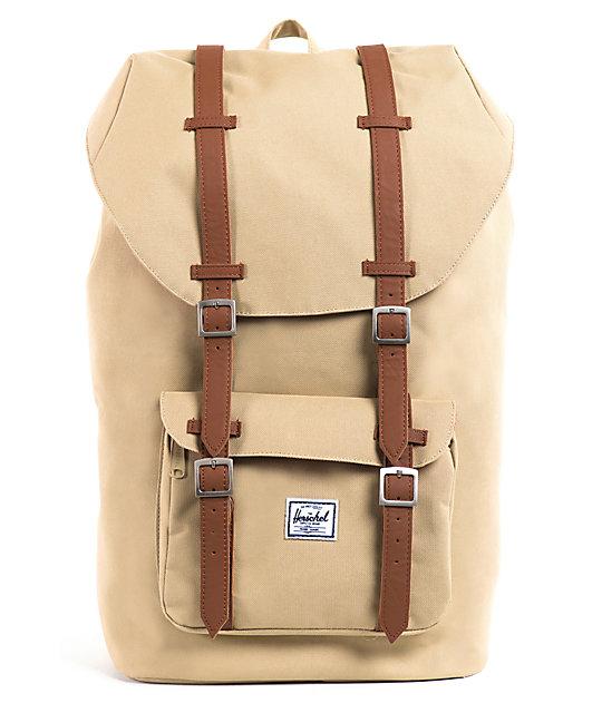 Herschel Supply Little America Khaki Backpack