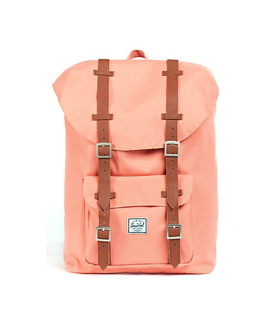 Herschel Supply Little America Medium Coral Backpack
