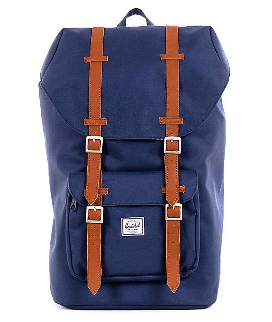 Herschel Supply Little America Navy & Red Backpack