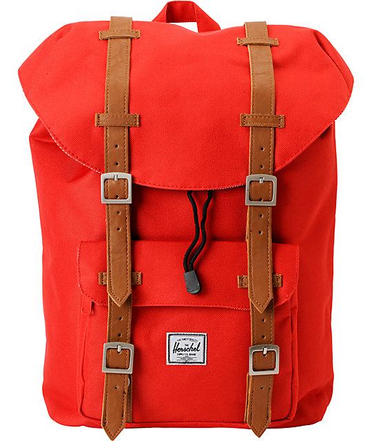 Herschel Supply Little America Red 11L Mid-Volume Backpack