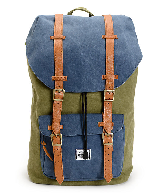 Herschel Supply Little America Washed Army Canvas 24L Backpack