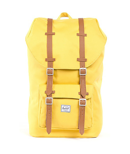 Herschel Supply Little America Yellow 11L Mid-Volume Backpack