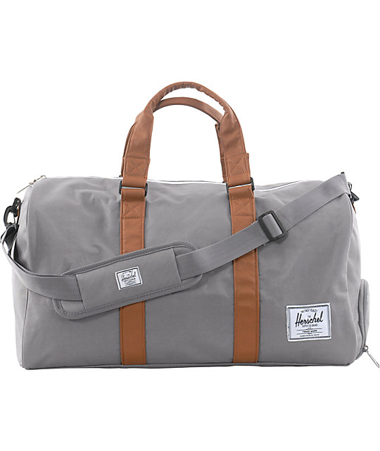 Herschel Supply Novel Grey Duffel Bag