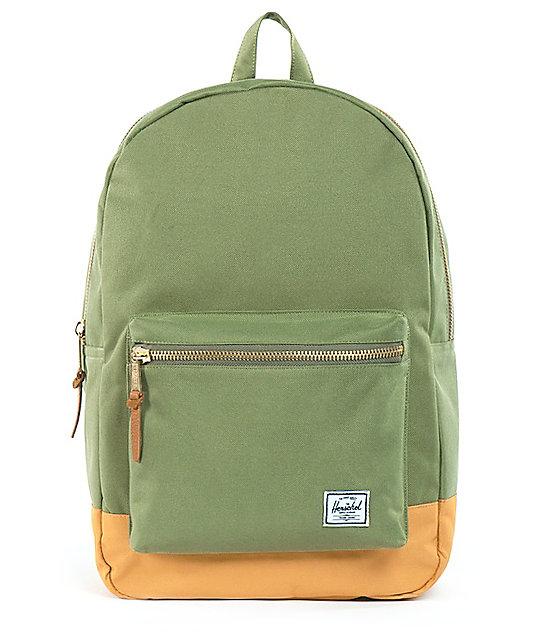Herschel Supply Olive Green Settlement 20L Backpack