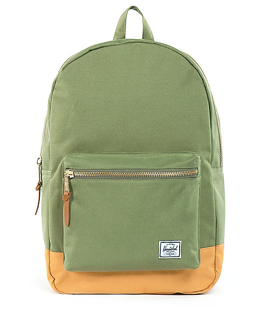 Herschel Supply Olive Green Settlement Backpack