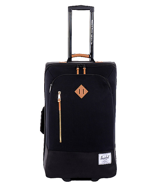 Herschel Supply Parcel Black Roller Bag