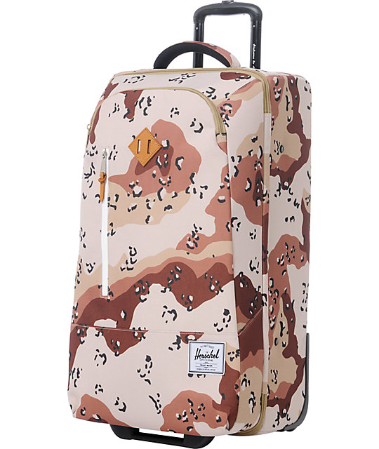 Herschel Supply Parcel Desert Camo Roller Bag