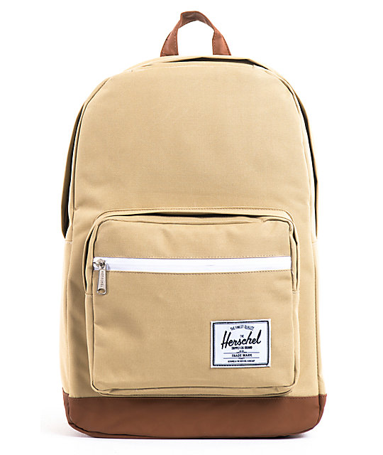 herschel supply pop quiz khaki backpack. Black Bedroom Furniture Sets. Home Design Ideas