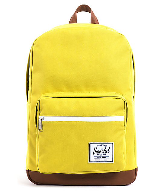 Herschel Supply Pop Quiz Lime Green Backpack
