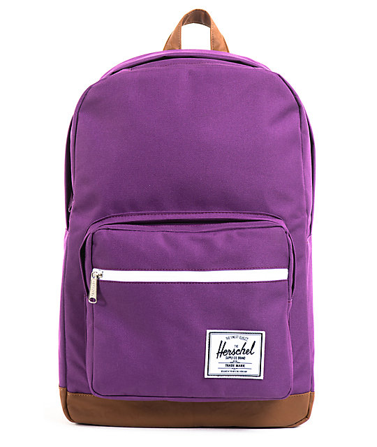 Herschel Supply Pop Quiz Purple Backpack