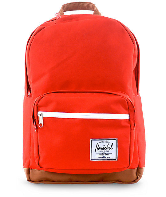 Herschel Supply Pop Quiz Red Backpack