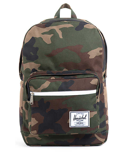 Herschel Supply Pop Quiz Woodland Camo 20L Backpack