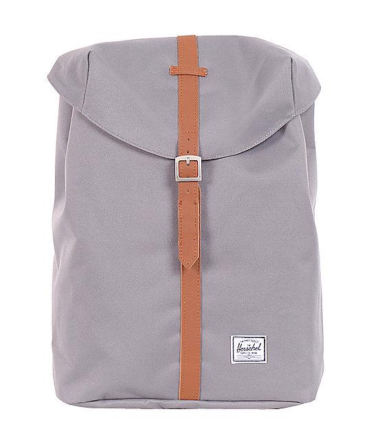 Herschel Supply Post Grey & Tan 12L Mid-Volume Backpack