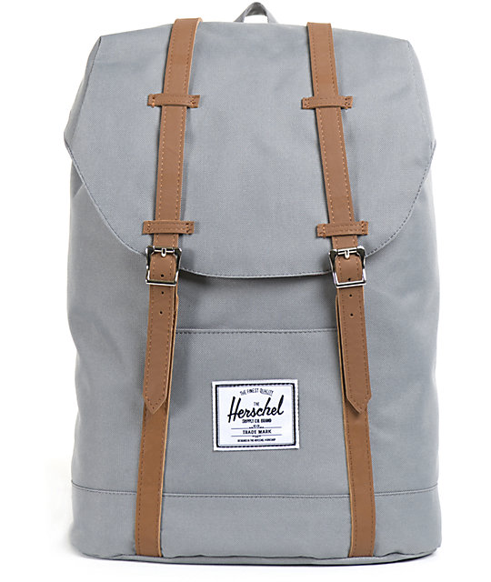 Herschel Supply Retreat Grey Backpack