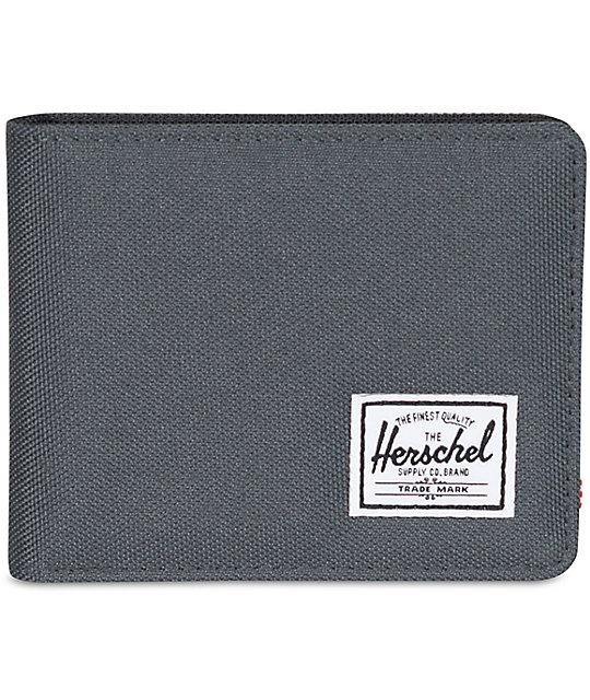 Herschel Supply Roy Dark Shadow Bifold Wallet