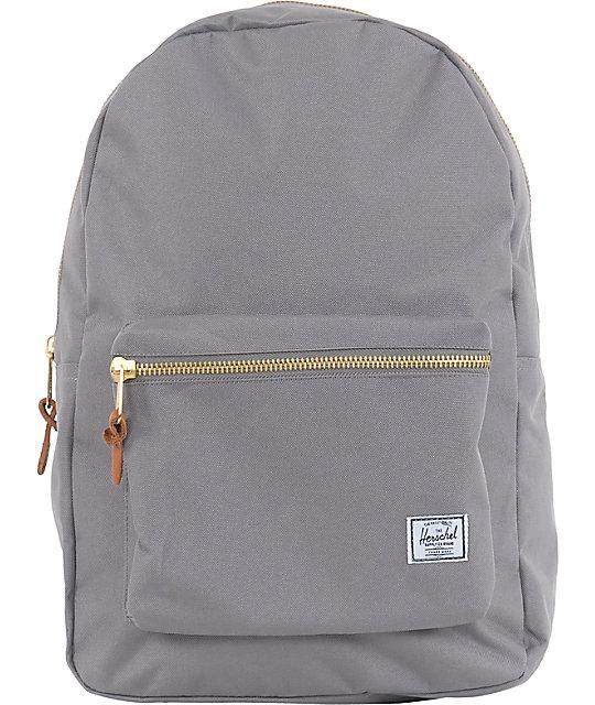 Herschel Supply Settlement Grey Backpack