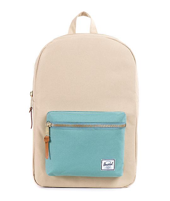 Herschel Supply Settlement Khaki & Seafoam 20L Backpack