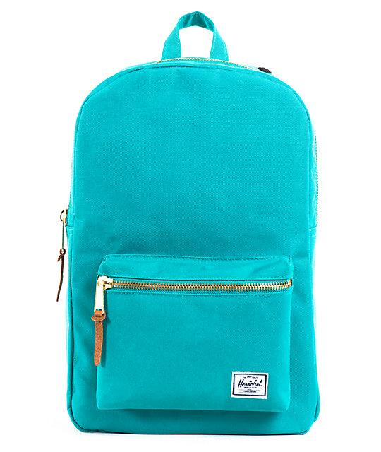 Herschel Supply Settlement Teal Backpack
