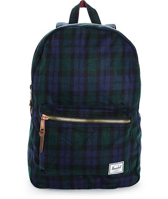 Herschel Supply Settlement Watch Plaid 20L Backpack