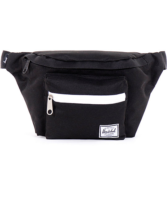 Herschel Supply Seventeen Black Fanny Pack