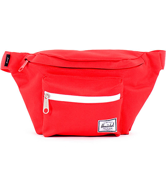 Herschel Supply Seventeen Red Fanny Pack