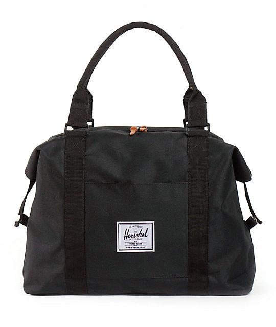 Herschel Supply Strand Black 20L Duffle Bag