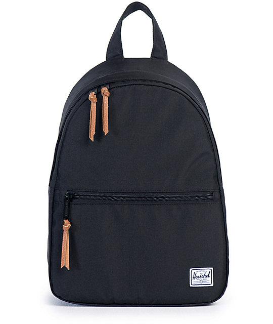Herschel Supply Town Black 9L Mini Backpack