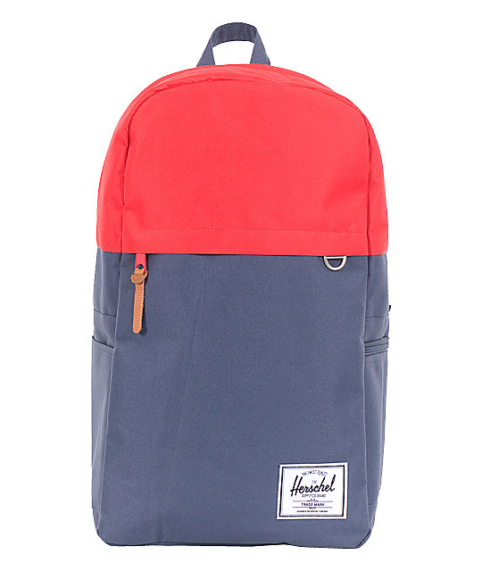 Herschel Supply Varsity Navy & Red Backpack