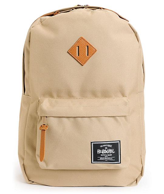 Herschel Supply x Stussy Heritage Khaki Backpack