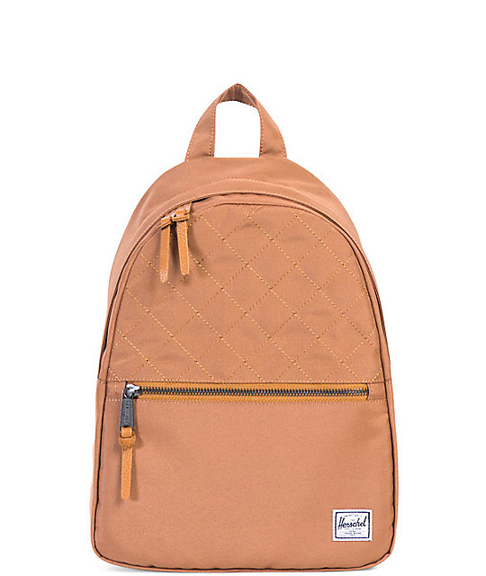 Herschel Town Mini Caramel Backpack