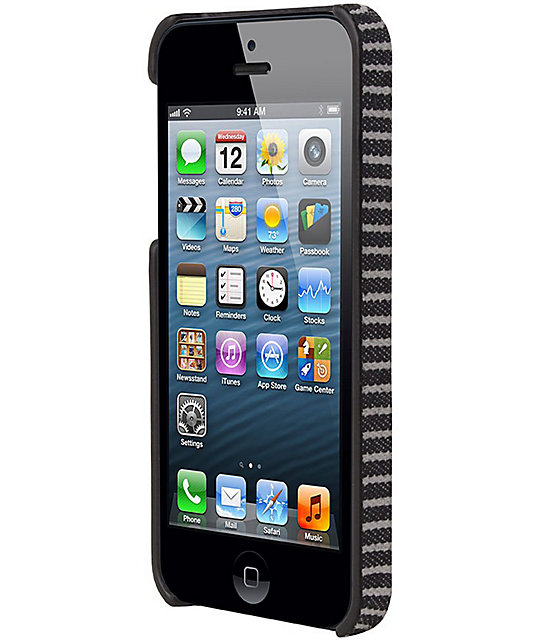 Hex Core Fleet Black & Grey iPhone 5 Case