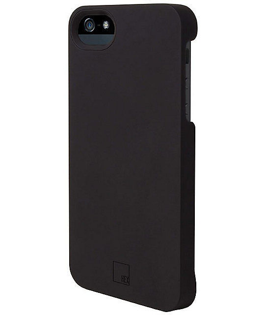Hex Stealth Black iPhone 5 Case