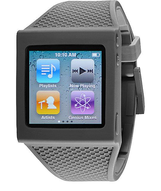 Hex iPod Nano Grey Watch Band