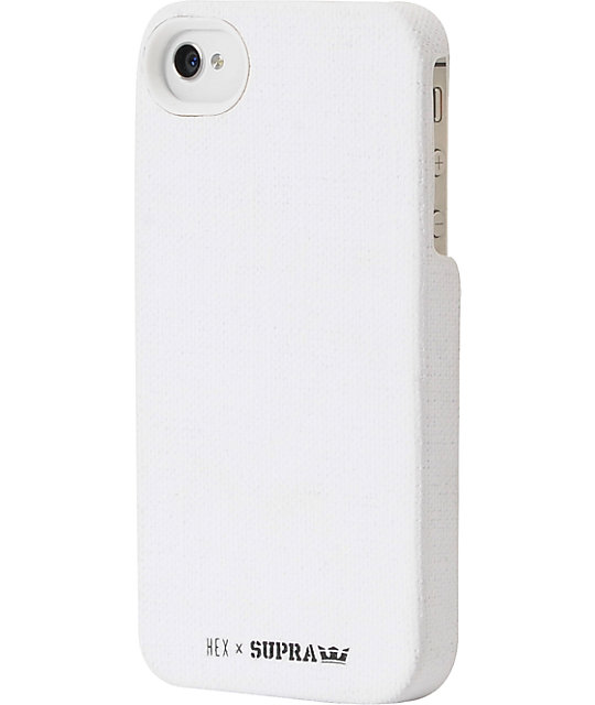 Hex x Supra Core White iPhone 4 Case