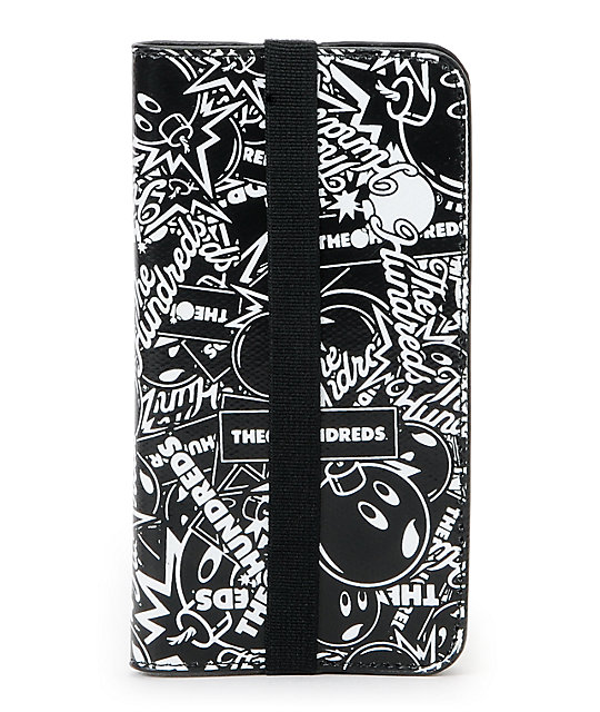 Hex x The Hundreds Axis Black & White iPhone 5 Case