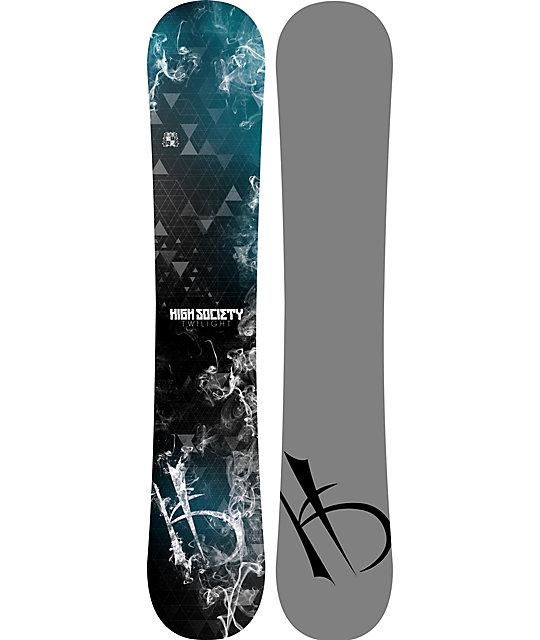 High Society Freeride Twilight 162cm Snowboard