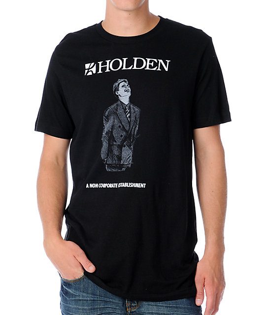 Holden Non Corpo Mens Black T-Shirt