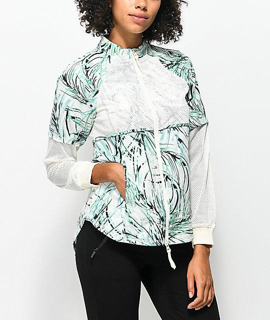 Hologram Elia White Print Jacket
