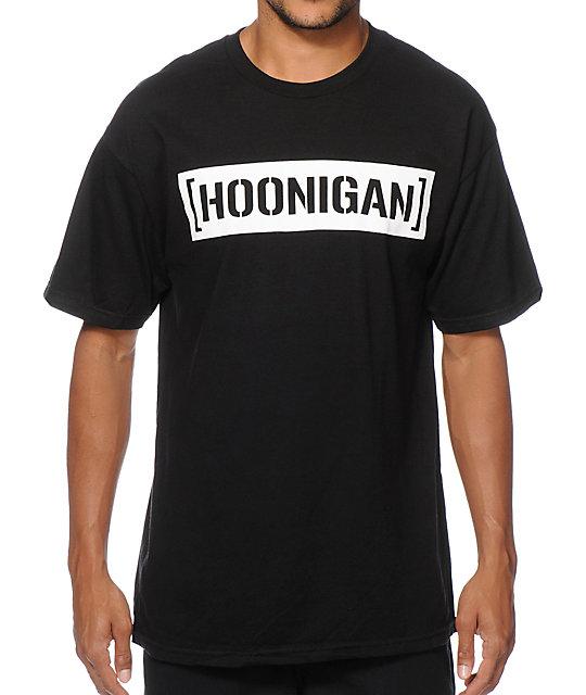 Hoonigan Censor Bar T-Shirt