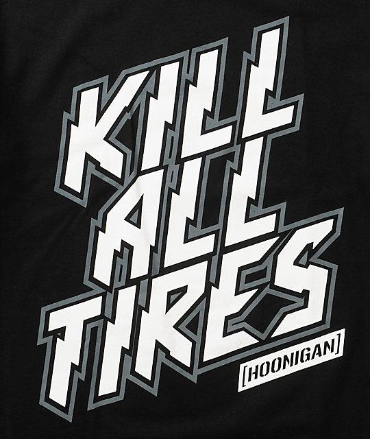 Buy Tires Online >> Hoonigan Kill All Tires T-Shirt | Zumiez