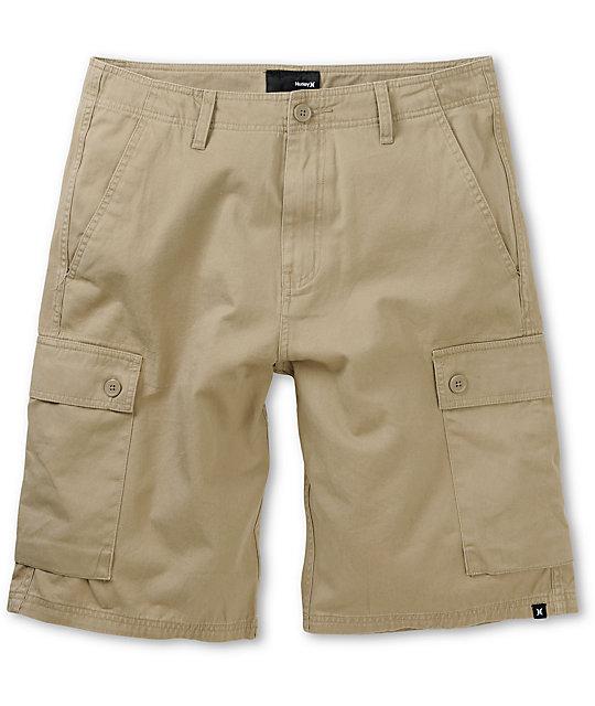 Hurley Ambassador Khaki Cargo Shorts